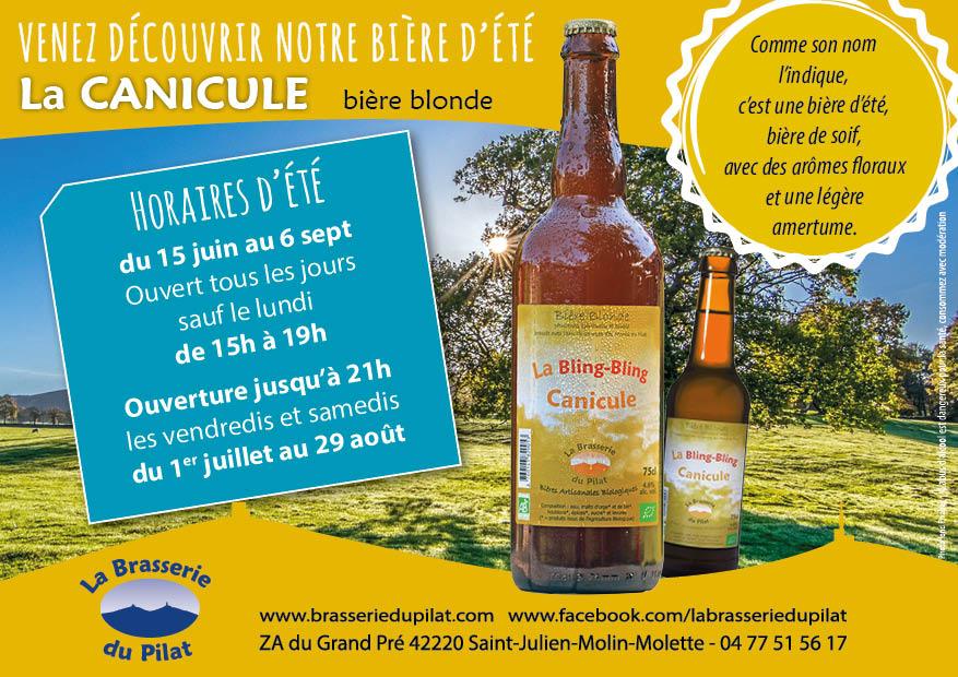 canicule; bière d'été, nouveaux horaires